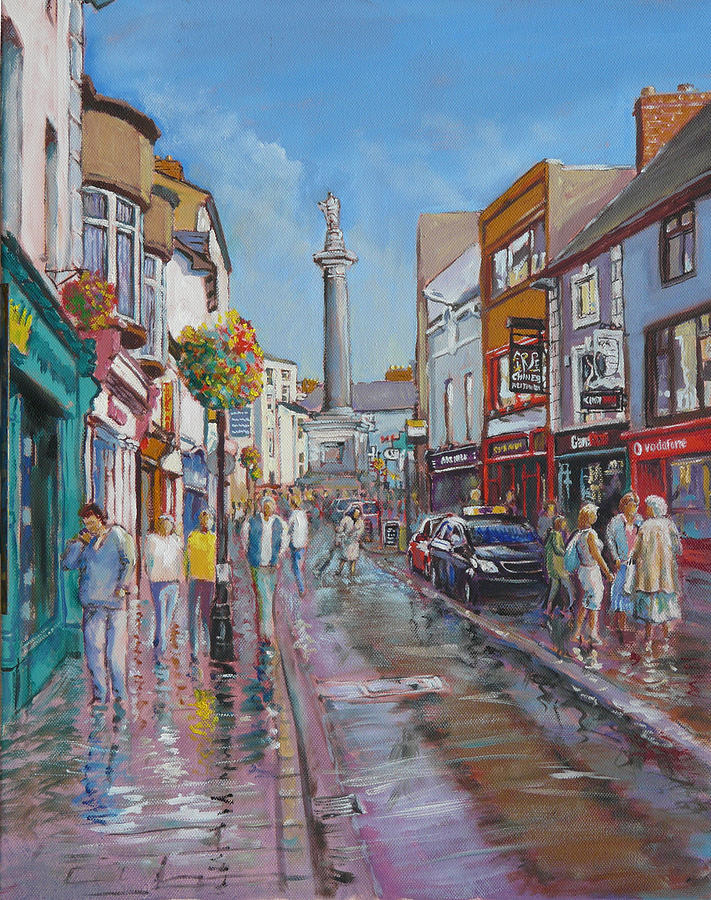 Oconnell Street Ennis Co Clare Painting