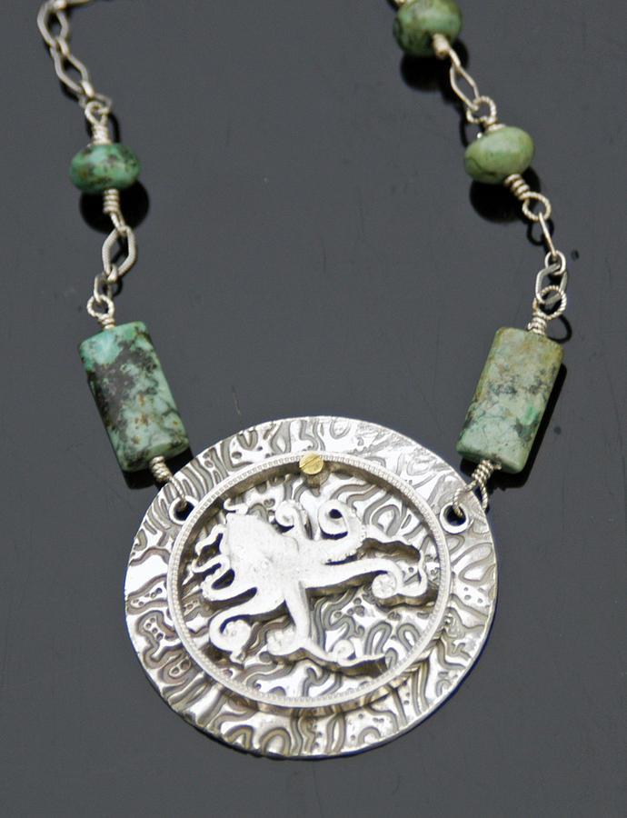 Jewelry Jewelry - Octopus Pendant by Mirinda Kossoff