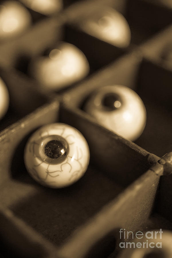 Oddities Fake Eyeballs Photograph