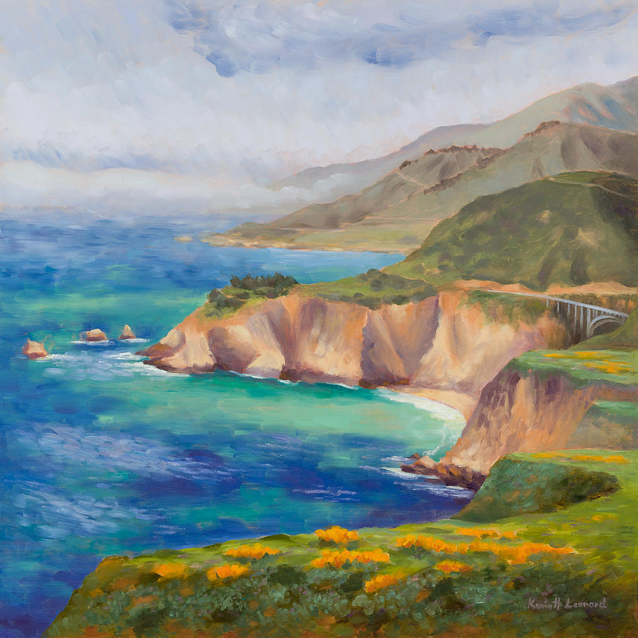 Ode To Big Sur Painting