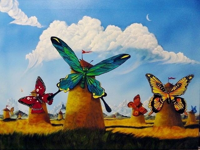Surrealism Painting - Ode To Kush by Carol Avants