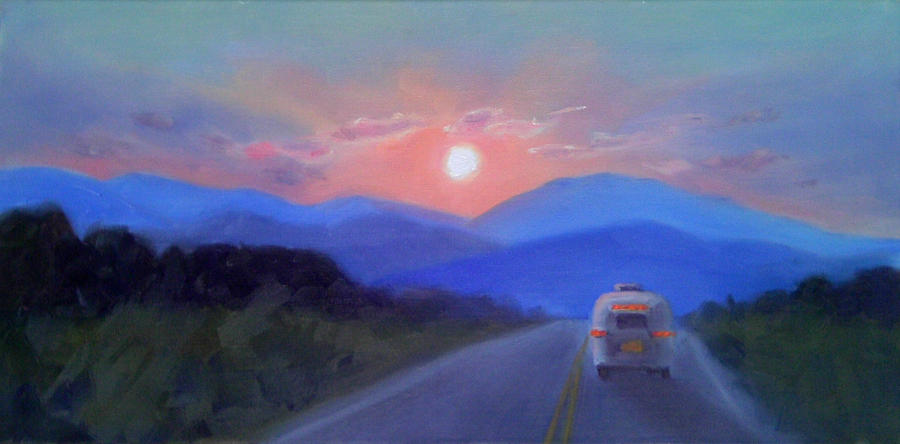 Off Into The Sunset Painting