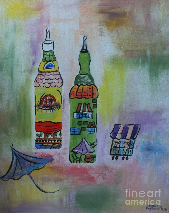 Oil And Vinegar Painting  - Oil And Vinegar Fine Art Print