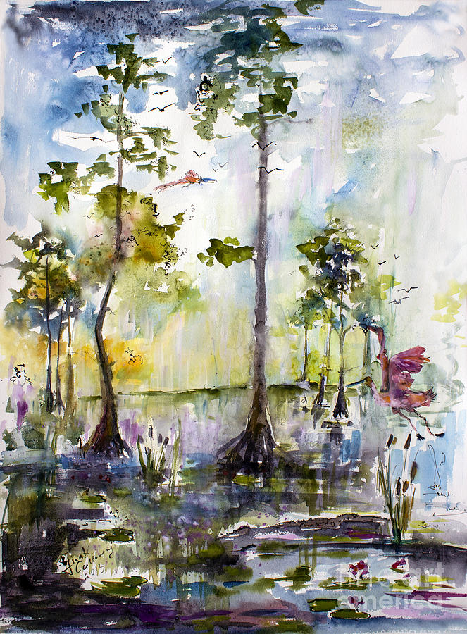 Okefenokee Wild Free And Peaceful Painting