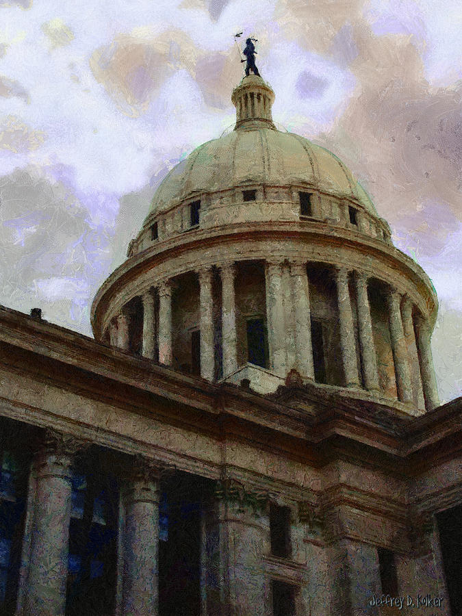 Oklahoma Capital Painting