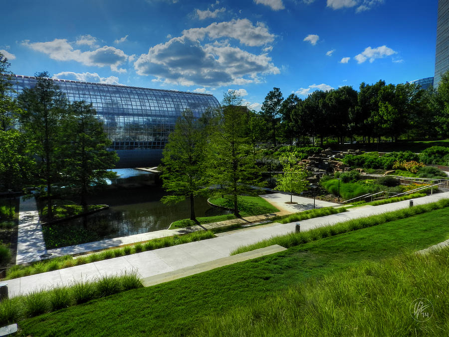 Oklahoma City Myriad Botanical Gardens 001 Photograph By