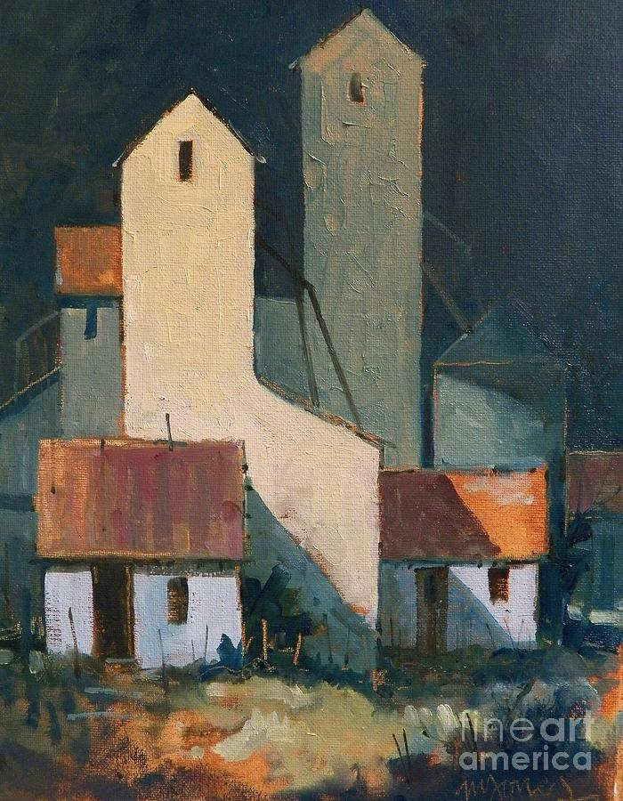 Oklahoma Feed Mill Painting