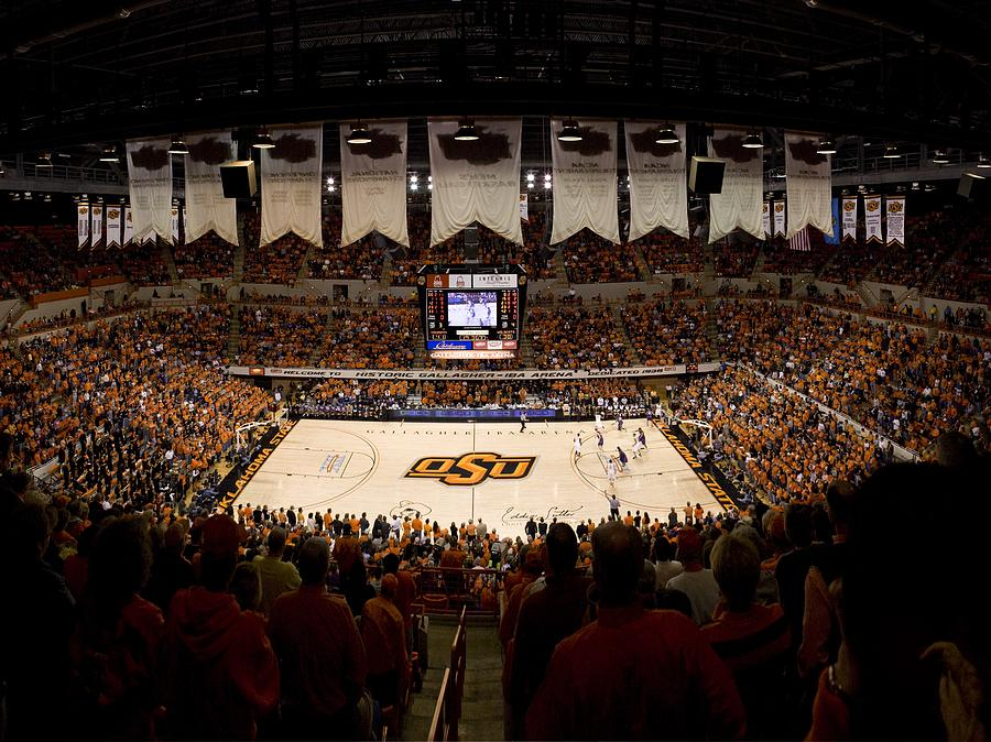 Oklahoma State Cowboys Gallagher-iba Arena Photograph