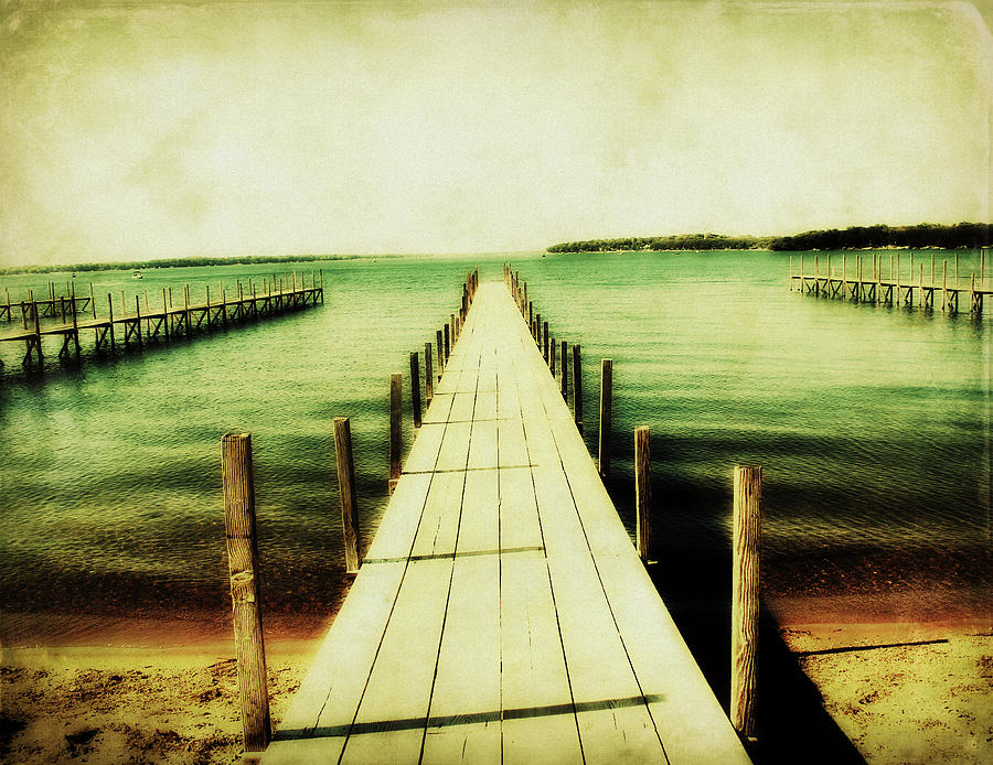 Okoboji Docks Photograph  - Okoboji Docks Fine Art Print