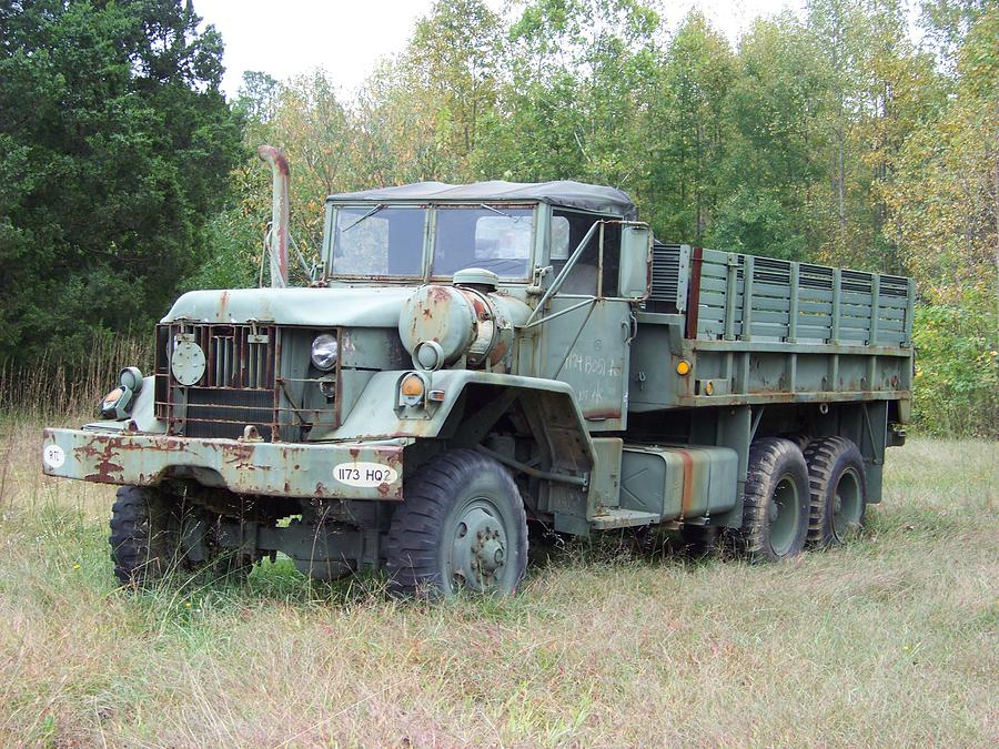 Old Army Truck is a photograph by Rebecca LaFrance which was uploaded ...