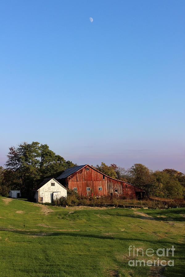 Old Barn At Sunset Photograph