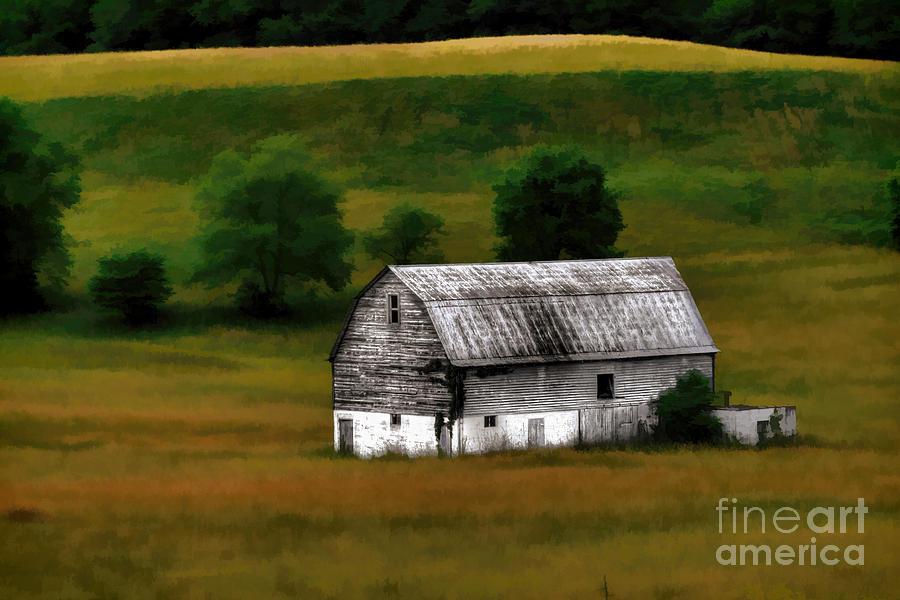 Old Barn Photograph - Old Barn Near Buckhannon by Dan Friend
