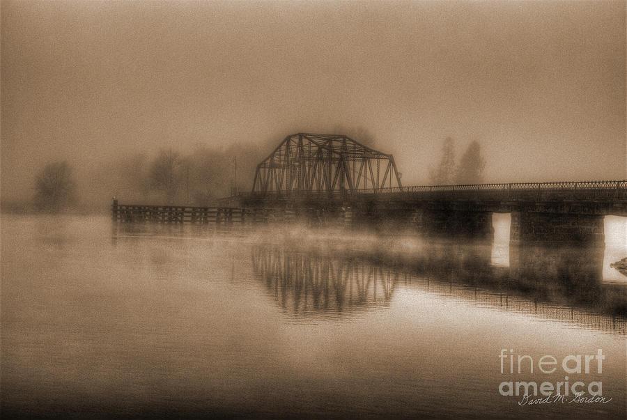 Old Berkley Dighton Bridge Photograph