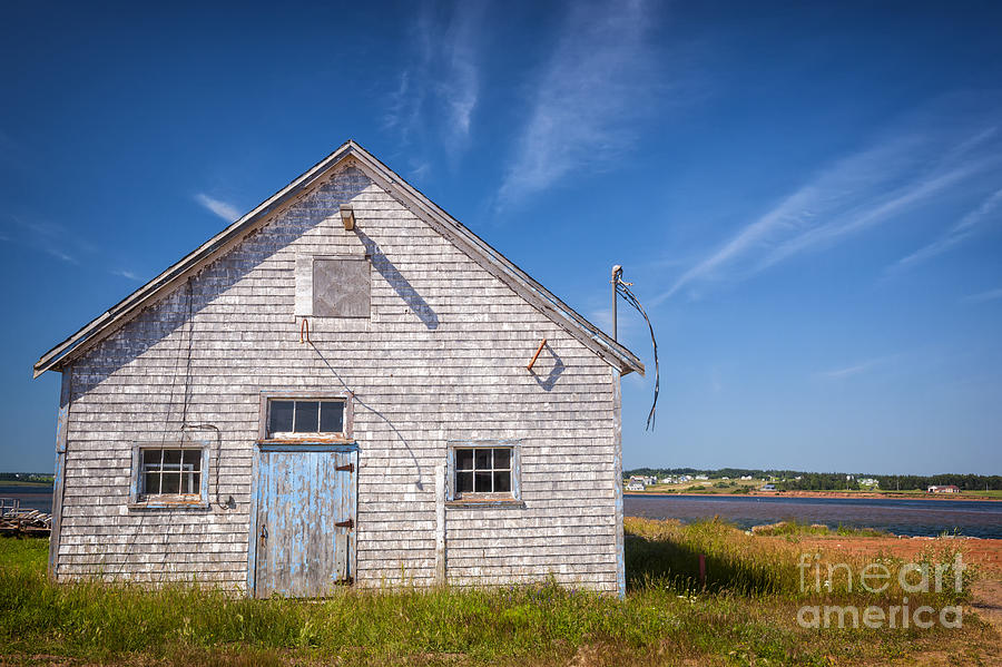 Old Building In North Rustico Photograph