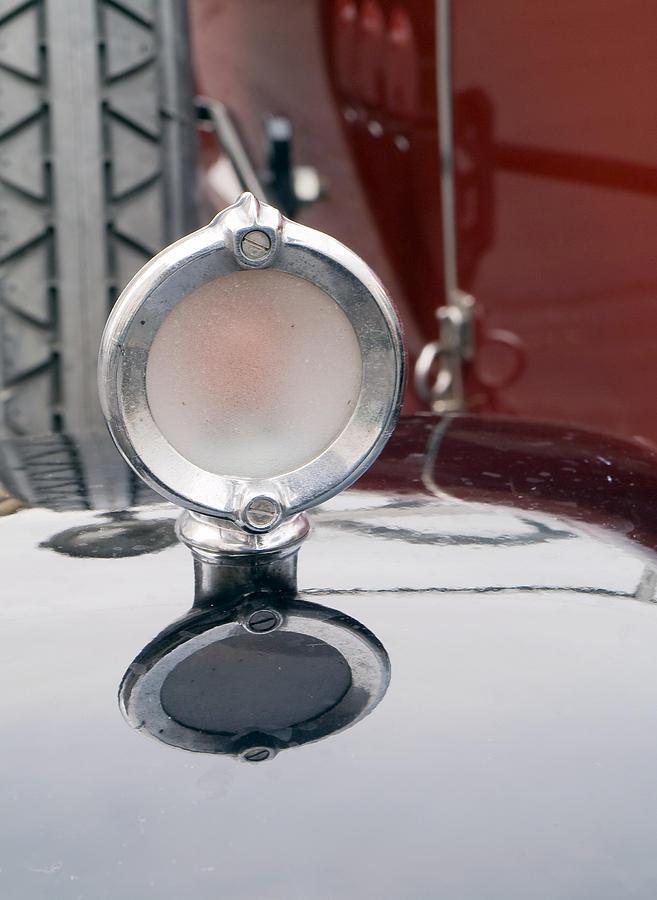 Old Car Logos Photograph