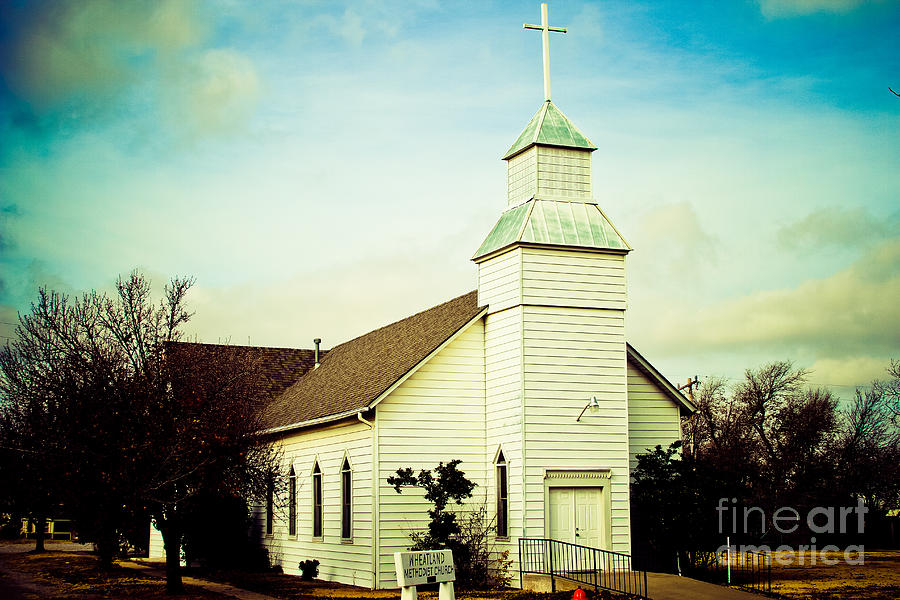 Old Church Photograph  - Old Church Fine Art Print