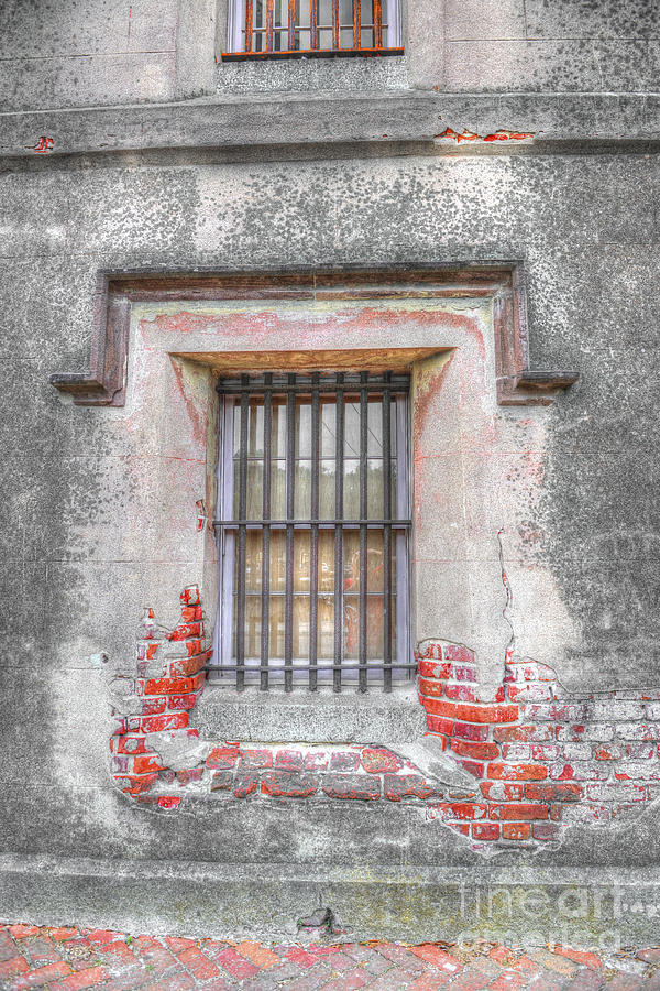 The Old City Jail Window Chs Photograph