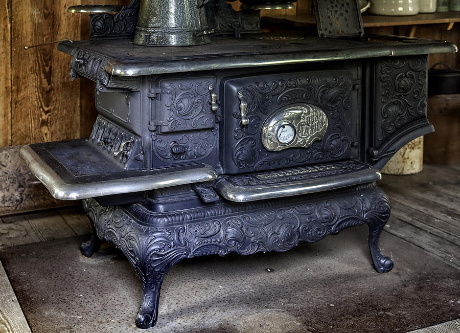 Old Clarion Wood Burning Stove Photograph