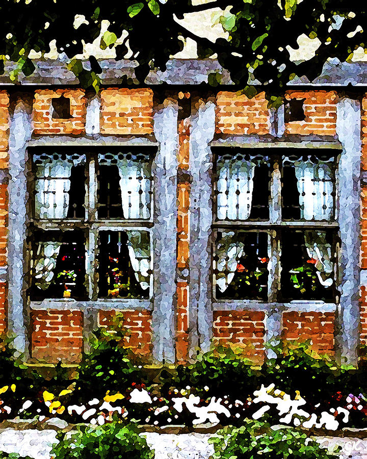 Old Country Charm Painting  - Old Country Charm Fine Art Print