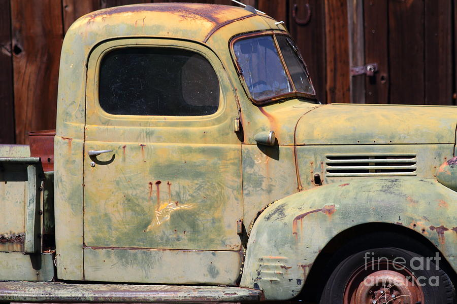 Old Dodge Truck 7d22382 Photograph  - Old Dodge Truck 7d22382 Fine Art Print
