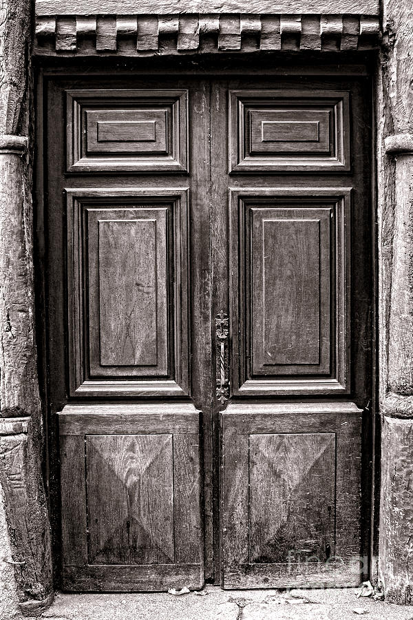 Old Door Photograph