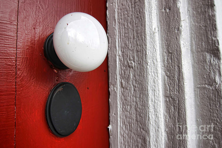 Old Doorknob Photograph