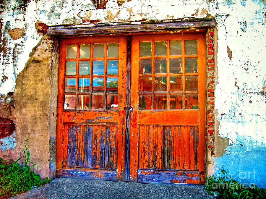 Old Doors Photograph  - Old Doors Fine Art Print