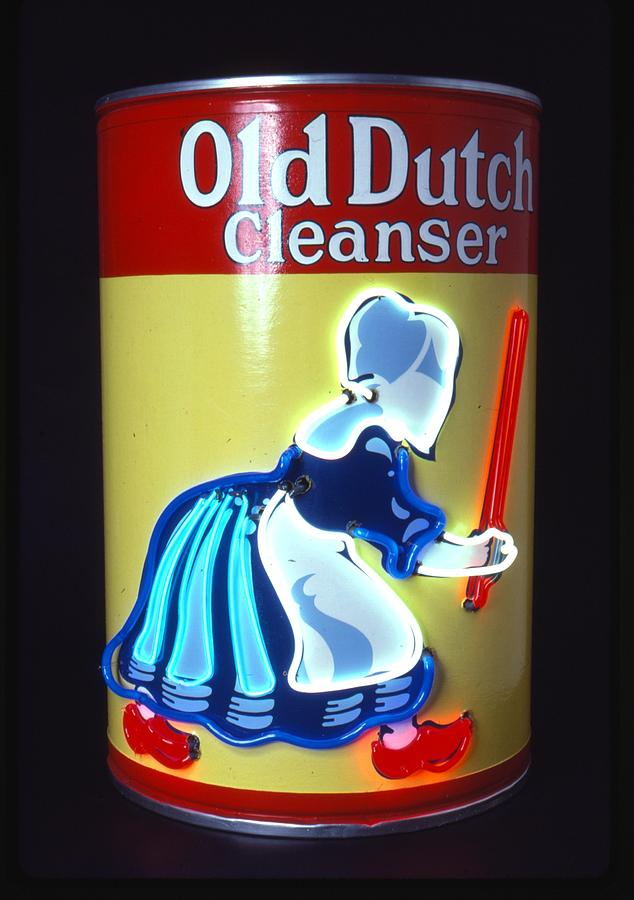 Old Dutch Cleanser Sculpture  - Old Dutch Cleanser Fine Art Print
