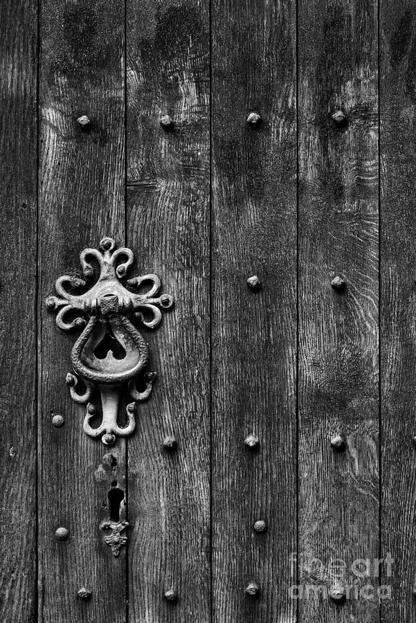 Old English Church Door Handle Photograph
