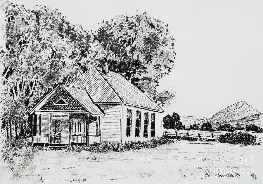 Old fairview school house by judy sprague modern house sketches