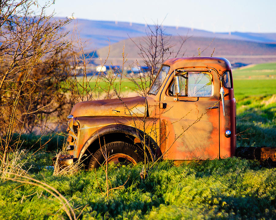 Old Farm Truck Photograph  - Old Farm Truck Fine Art Print