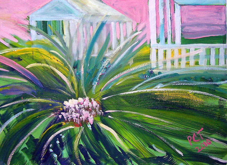 Old Florida Painting  - Old Florida Fine Art Print