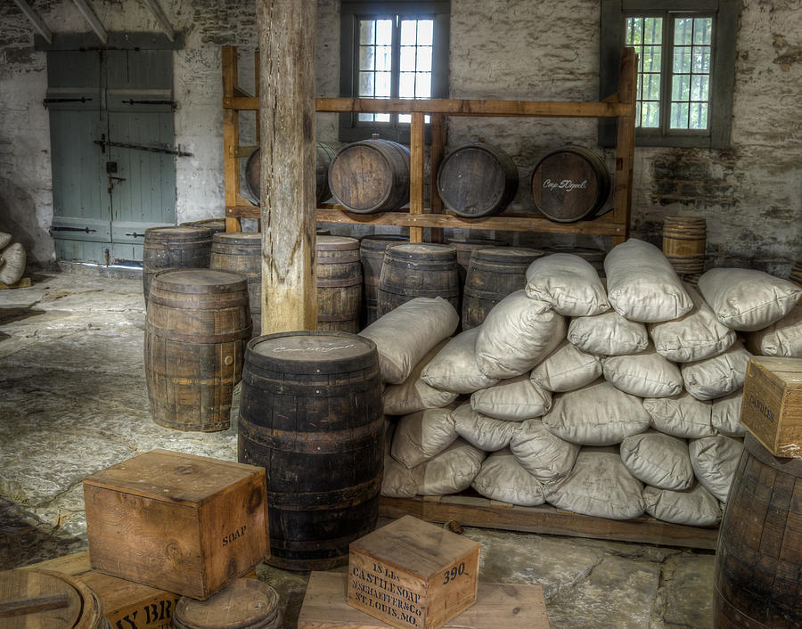 Old Fort Commissary Photograph