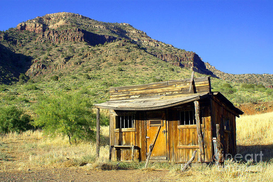 Old General Store - Salt River Canyon Photograph