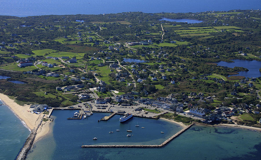 Old Harbor, Block Island Photograph by Dave Cleaveland