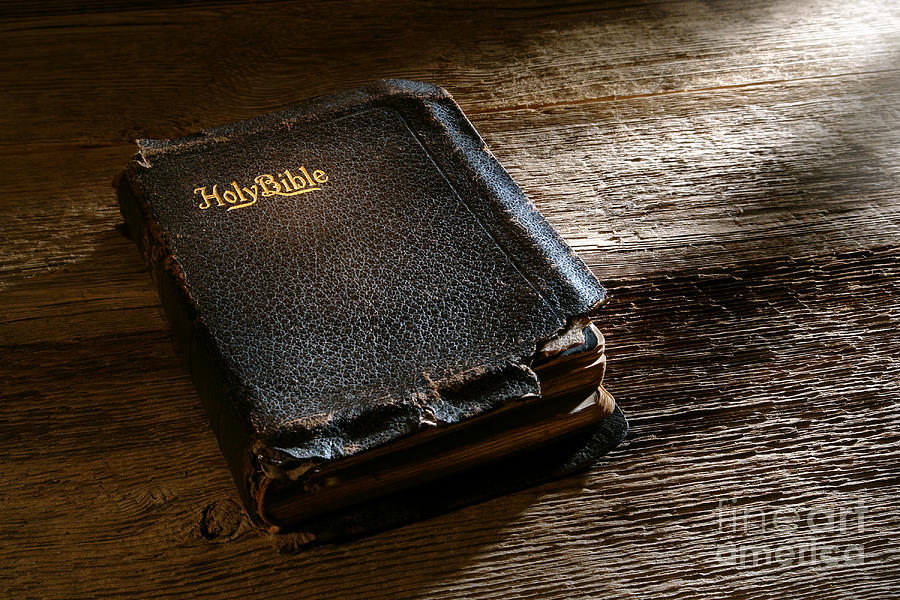 Old Holy Bible Photograph