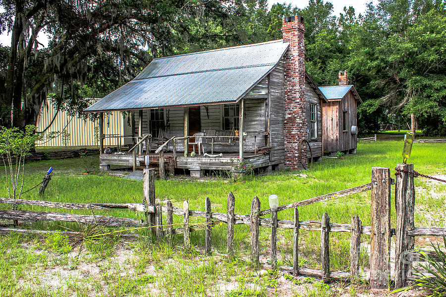 Old Home In Yulee Photograph By Scott Moore