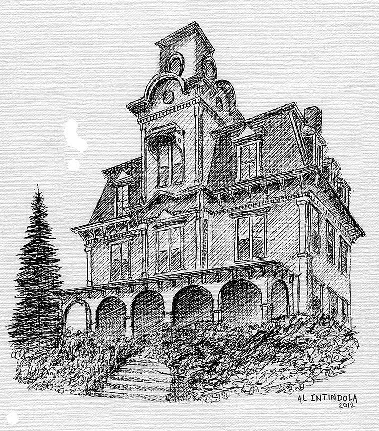 Image Gallery Old Houses Drawings