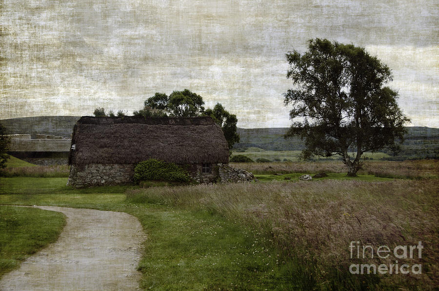 Old House In Culloden Battlefield Photograph