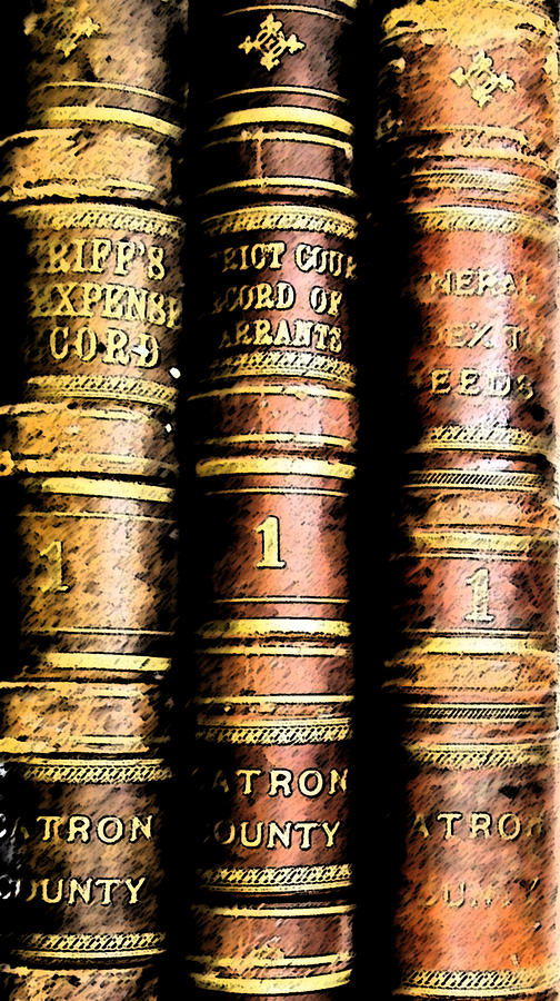 Old Ledgers Photograph