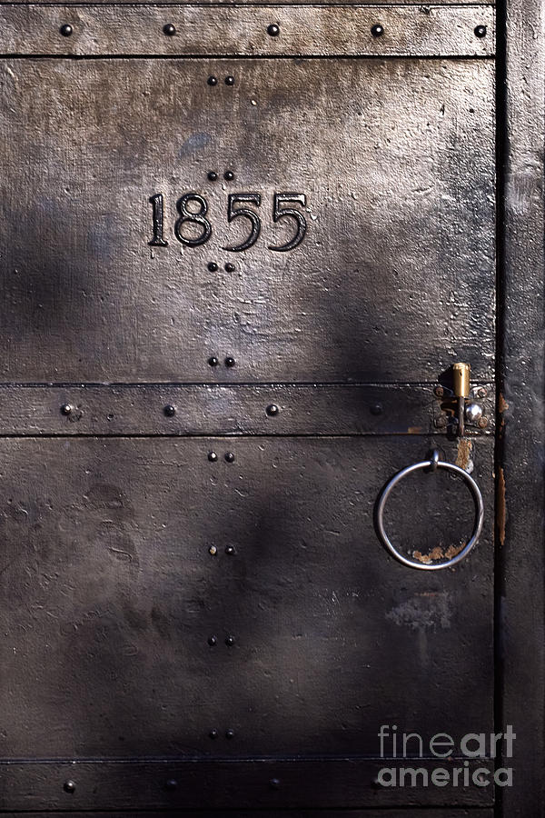 Old Lighthouse Door Photograph