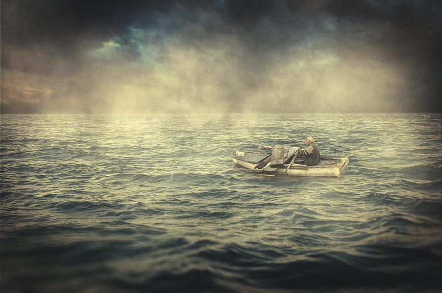 Old Photograph - Old Man And The Sea by Taylan Soyturk