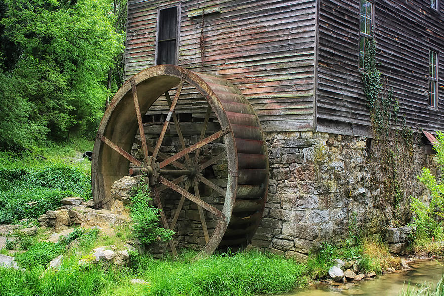 Old Mill Outside Gatlinburg Photograph