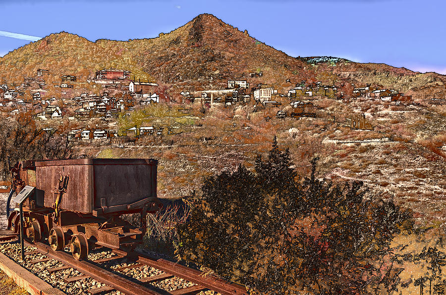 Old Mining Town No.24 Photograph