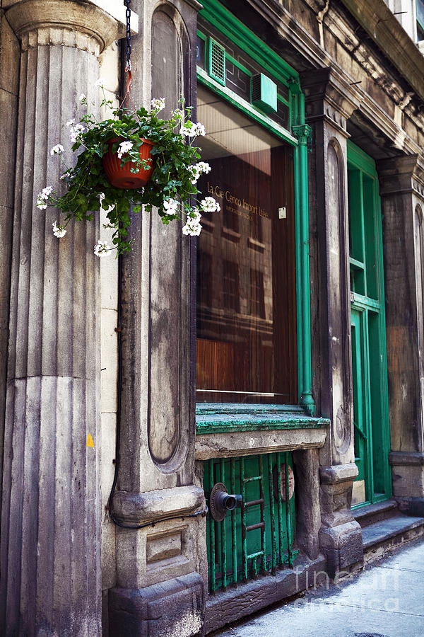 Old Montreal Architecture Photograph - Old Montreal Architecture by John Rizzuto