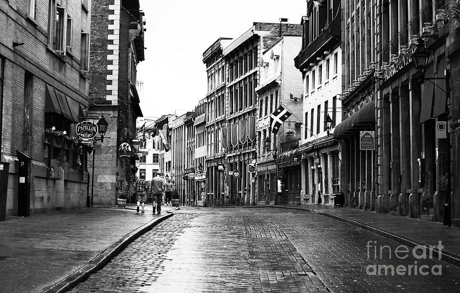 Old Montreal Streets Photograph