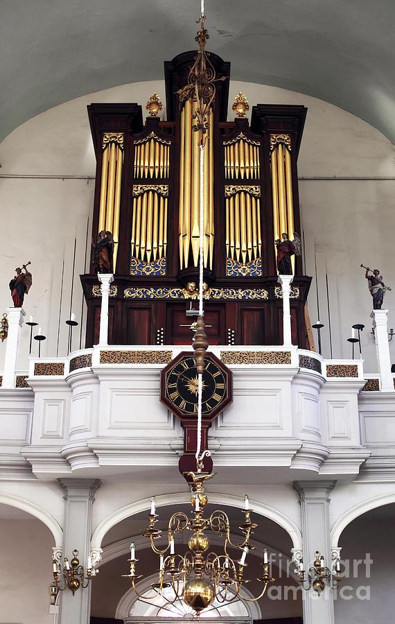 Old North Church Organ Photograph