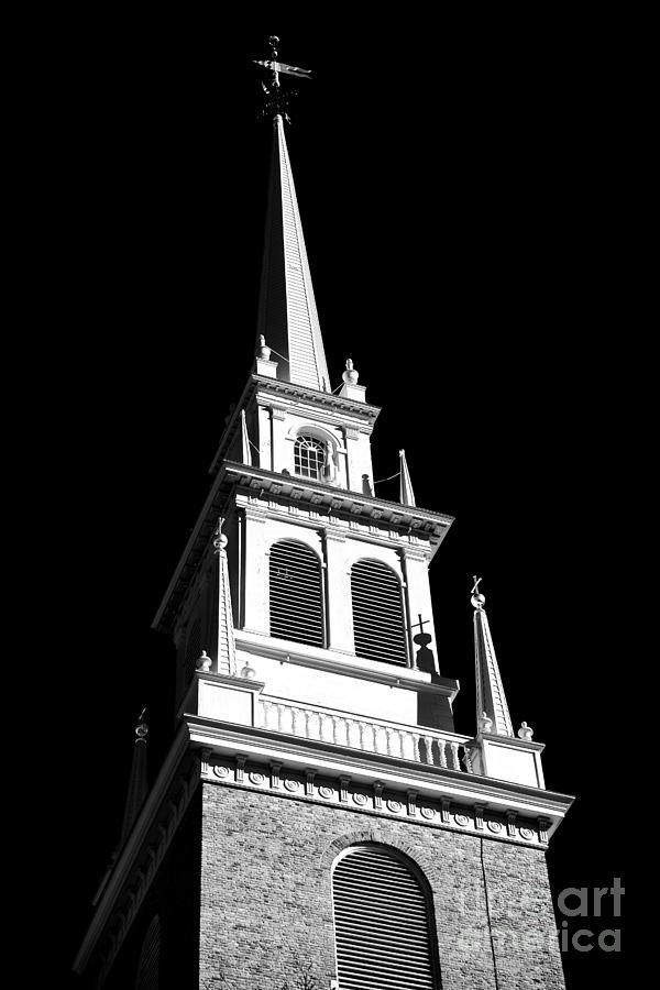 Old North Church Star Photograph