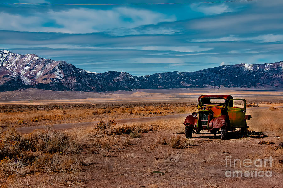 Old Pickup Photograph  - Old Pickup Fine Art Print