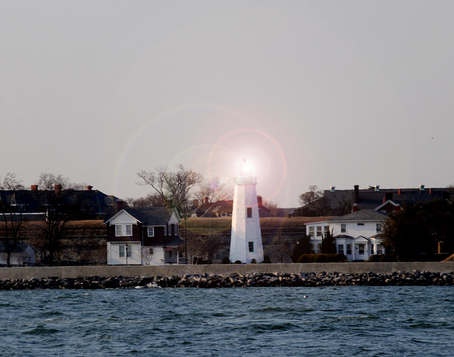 Old Point Comfort Lighthouse Photograph